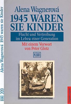 """Obálka knihy (1990) v nakladatelství Kiepenheuer & Witsch, Kolín nad Rýnem se vzpomínkami     těch Stegmannových """"dokonce ze stejné rodiny"""", obou narozených v roce 1940 ..."""