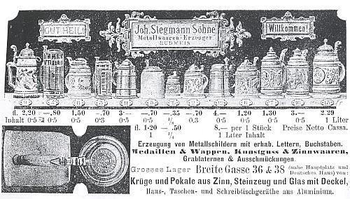 Inzerce kdysi známé budějovické firmy