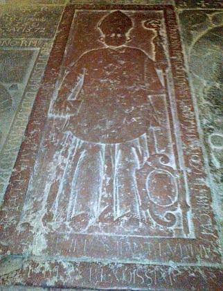 Náhrobky opatů vyšebrodského kláštera: Jana III. Harziuse, Gangolfa Scheidingera, Jindřicha III. Januse a Jana IV. Clavey