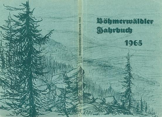 Jeho obálka šumavského krajanského kalendáře na rok 1965