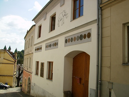 Rekonstruovaný dům Steinbrenerových ve Vimperku