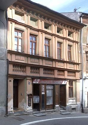 Rodný dům čp. 109 v Pivovarské ulici ve Vimperku