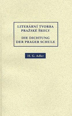 Obálka (2003) dvojjazyčného vydání Adlerova eseje s ukázkami zeSteinerova díla v brněnském nakladatelství Barrister & Principal