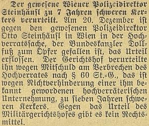 Zpráva procesu s ním v českobudějovickém německém listu