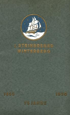 Obálka (1930) pamětního tisku firmy