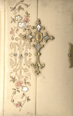 Zdobené vazby modlitebních knih z jeho tiskárny