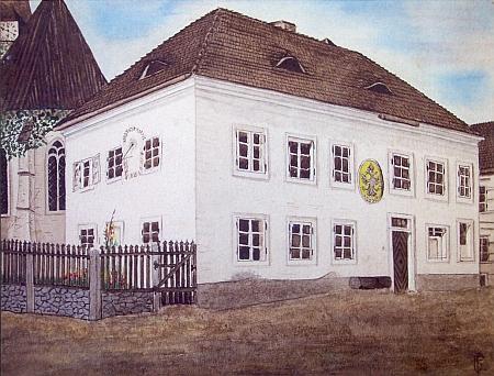 Škola v Horní Stropnici za jeho časů