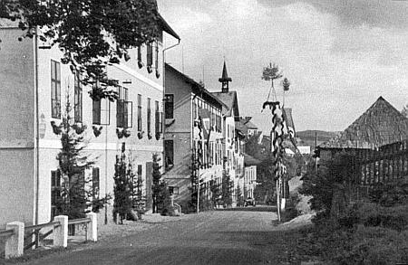Vimperk v říjnu 1938
