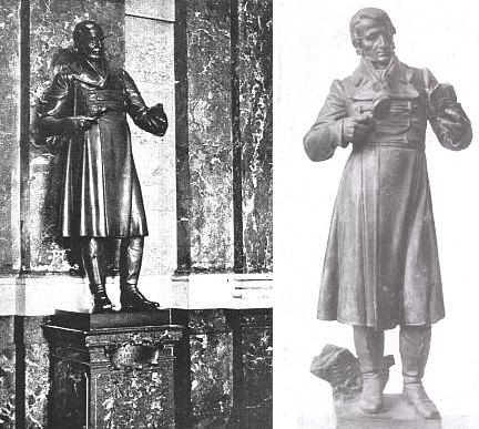 Socha Kašpara Marii ze Šternberka od Josefa Kvasničky v Pantheonu Národního muzea v Praze