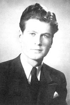 Jeho syn Heinz nedlouho po příletu do Stockholmu v roce 1946