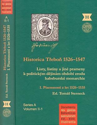 Obálky (2010 a 2015) publikací pražského Historického ústavu, jejichž je editorem