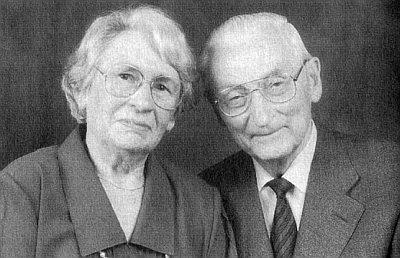 O zlaté svatbě v Řezně s manželkou Hedwig roku 1997