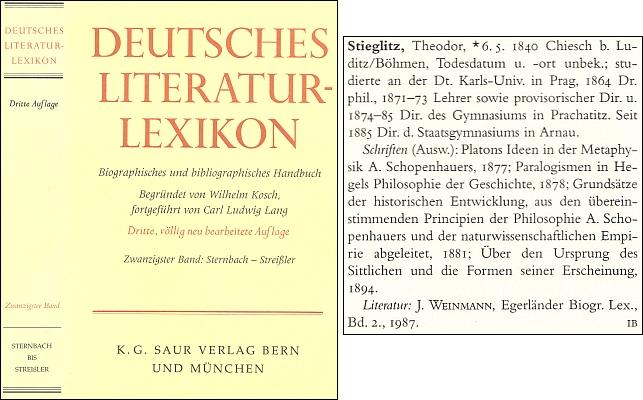 Jeho heslo v německém literárním lexikonu uvádí, že datum a místo jeho skonu není známo