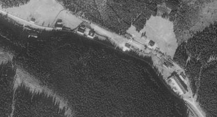 Rodný Františkov na leteckých snímcích z let 1951 a 2008