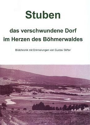 Obálka (2007) jeho knihy o zaniklé podobě osady Hůrka vydané Books on Demand, Norderstedt
