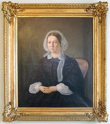 Jeho manželka Amalia, roz. Mohauptová
