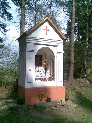 Kaple na vrchu Ořík (Roßberg), o kterém je řeč vjejím vzpomínkovém textu