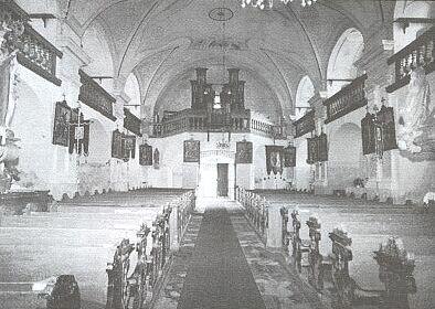 Kostel sv. Prokopa a Oldřicha ve Starém Sedlišti po opravě z darů spolku německých rodáků v roce 1999