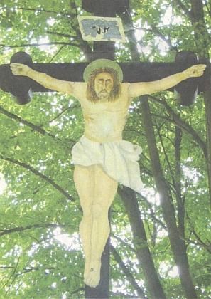 Kříž na hřbitově ve Starém Sedlišti