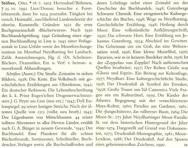 Má obsáhlé heslo v Deutsches Literatur Lexikon (2000)