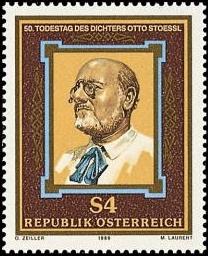 Na rakouské poštovní známce z roku 1986