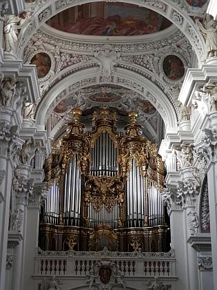 Varhany v pasovském dómu