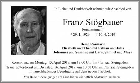 Parte a úmrtní lístek, který uvádí i rodná Švajglova Lada