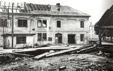 Volarský obecní úřad, kde působil, byl po válce vyrabován a stržen, na jeho místě dnes stojí panelový dům