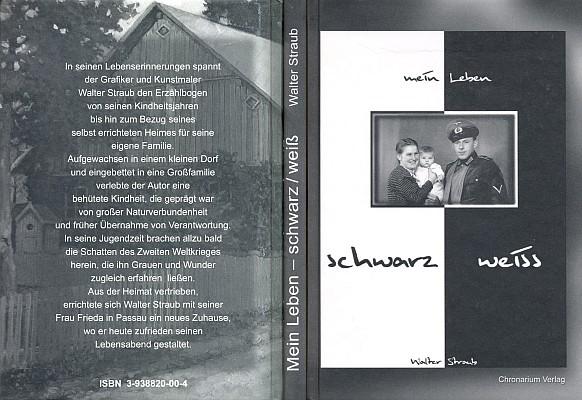 Obálka (2005) jeho knihy v pasovském Chronarium-Verlag