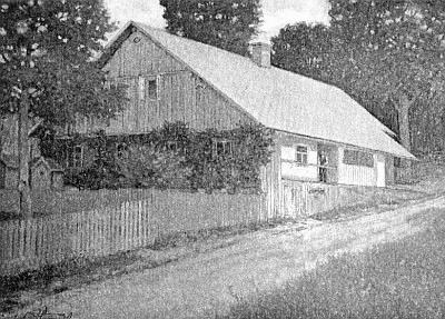 Rodný dům ve Stodůlkách na jeho obraze