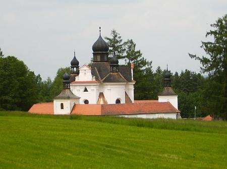 Poutní kostel Nejsvětější Trojice u Trhových Svinů...