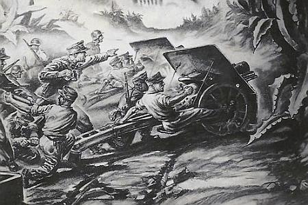 """Dvě ukázky z """"prací"""" Heina Bethmanna, Strittmatterova druha, z bojů horských myslivců v Řecku za druhé světové války"""