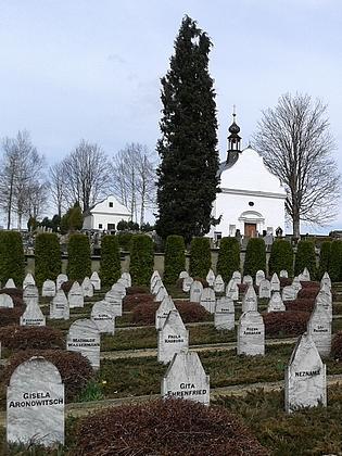 Volarský hřbitov obětí pochodu smrti