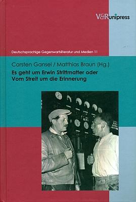 """Obálka (2012) knihy z nakladatelství V & R Unipress vGöttingen o """"kauze"""" Strittmatter i s kapitolou o pochodu smrti ve Volarech"""