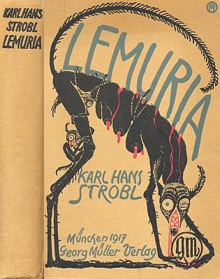 Obálka knihy (1917) v mnichovském nakladatelství Georg Müller