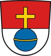 Znak města Schwabmünchen, kde zemřela