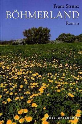 Obálka (2007) druhého vydání jeho jediného románu znakladatelství Stekovics v Dößel, to už v roce jeho skonu