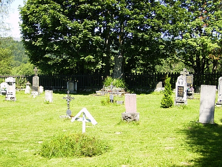 Hřbitov v Knížecích Pláních v roce 2010