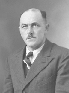 Adolf Studener na snímku z fotoateliéru Seidel z 29. dubna 1941