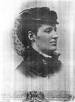 Kněžna Ida ze Schwarzenbergu byla přítomna vysvěcení mostu na den sv.Linharta roku 1886