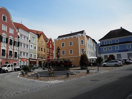 Schärding na Innu, kde žil a zemřel