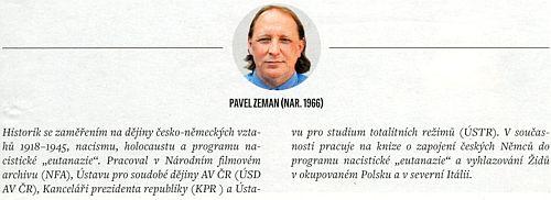"""Programu nacistické """"eutanazie"""" zejména v okupovaném Polsku se věnuje historik Pavel Zeman"""