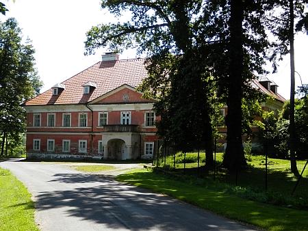 Kundratický zámek dnes (2020)