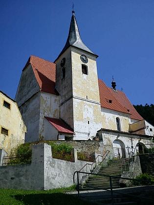 Kostel sv. Máří Magdalény v Brloze, místo jeho první svatby