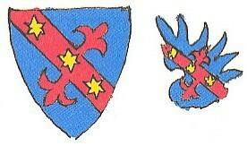 Erb v kresbě Augusta Sedláčka...