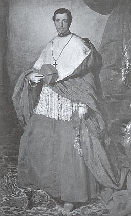 Amerlingův portrét knížete Schwarzenberga v detailním černobílém záběru