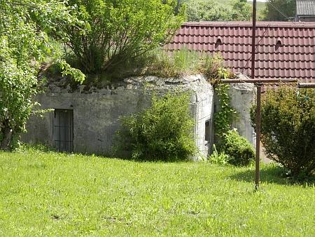 Bunkr v Křenově, součást opevnění z období prvé republiky