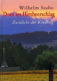 Obálky (2001) dvou jeho knih, sbírky básní Schwärzer schatten die Wälder a autobiografie Dorn im Himbeerschlag, obou vydaných vnakladatelství Bibliothek der Provinz ve Weitře