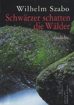 Obálky (2001) dvou jeho knih, sbírky básní Schwärzer schatten die Wälder a autobiografie Dorn im Himbeerschlag, obou vydaných v nakladatelství Bibliothek der Provinz ve Weitře