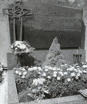 Její hrob v Rundingu